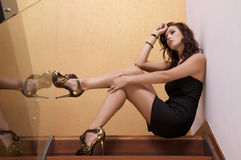 Beautiful adult sensuality woman Stock Photo