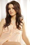 Beautiful adult sensuality woman. Portrait of a beautiful adult sensuality brunette woman Stock Images