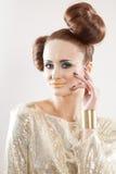 Beautiful adult sensuality woman Stock Photography