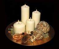 Beautiful advent wreath Royalty Free Stock Photo