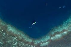 Beautiful Panoramic aerial view of Gili Laba island, Indonesia