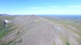 Beautiful Aerial view with very high altitude in Ural stock footage