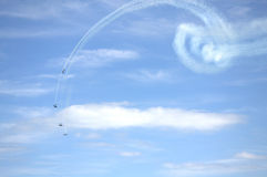 Beautiful aerobatics Royalty Free Stock Photo