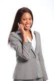 Beautiful african american business woman Stock Photo