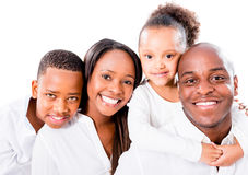 Beautiful African American family Royalty Free Stock Photography