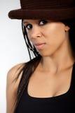 Beautiful African-American Girl Stock Photo