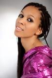 Beautiful African-American girl Stock Photos