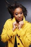 Beautiful African-American girl.2. Royalty Free Stock Photo