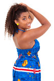 Beautiful african american  girl Stock Photography