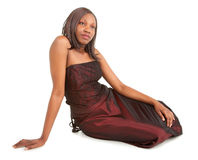 Beautiful African American Lady Stock Photography