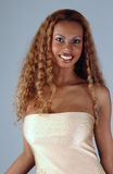 Beautiful African American model at the Studio Stock Photos