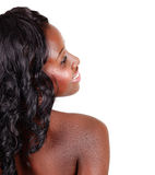 Beautiful African American woman Royalty Free Stock Photography
