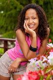 Beautiful african american woman Royalty Free Stock Image