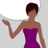 Beautiful African American woman Royalty Free Stock Photo