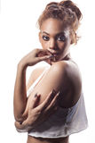Beautiful African American woman. Royalty Free Stock Photos
