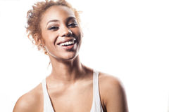 Beautiful African American woman. Stock Photography