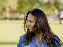 Beautiful African American woman Royalty Free Stock Image