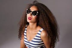 Beautiful african american woman posing. Royalty Free Stock Photo