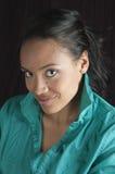 Beautiful african american woman smiling Stock Photos