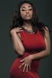 Beautiful African American woman. Stock Image