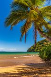 Beautiful african beach of Nosy be in Madagascar royalty free stock image
