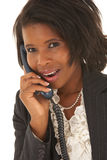 Beautiful African businesswoman royalty free stock photo