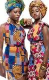 Beautiful African fashion models. Stock Photo