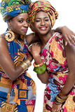 Beautiful African fashion models. Stock Photo