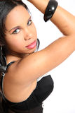 Beautiful African Glamour Model Royalty Free Stock Photo