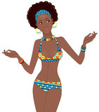 Beautiful African woman Stock Image