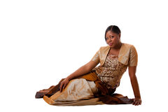 Beautiful African woman Stock Photos