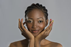 Beautiful African Woman Portrait Royalty Free Stock Image