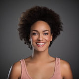 Beautiful African Woman Smiling Royalty Free Stock Photo