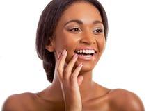 Beautiful Afro American girl Royalty Free Stock Photos