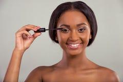 Beautiful Afro American girl Royalty Free Stock Image