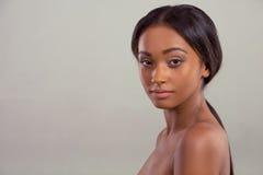 Beautiful Afro American girl Stock Photo