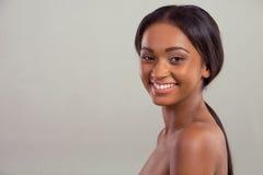 Beautiful Afro American girl Stock Photography