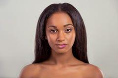 Beautiful Afro American girl Stock Image