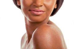 Beautiful Afro American girl Royalty Free Stock Images