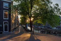 Beautiful afternoon in Amsterdam Stock Photography