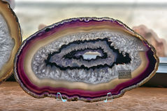 Beautiful agate stone Royalty Free Stock Photography