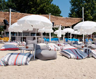 Beautiful Agios Ioannis beach Royalty Free Stock Photo
