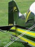 Beautiful airshow Pitts S-1 biplane. Royalty Free Stock Photo