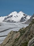Beautiful Aletsch Area Royalty Free Stock Image