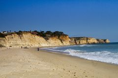 Beautiful Algarve beach Stock Photos