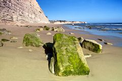 Beautiful Algarve beach Royalty Free Stock Photos