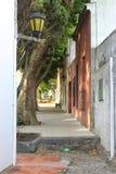 Beautiful alley Stock Photo
