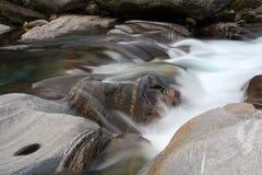 Beautiful alpine brook Stock Photography