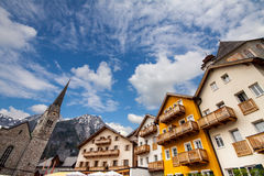 Beautiful  Alpine houses in Austria Stock Photography