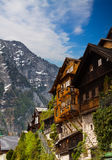 Beautiful  Alpine houses in Austria Stock Images